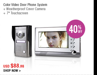 Color Video Door Phone System