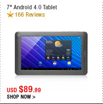 "7"" Android 4.0 Tablet"