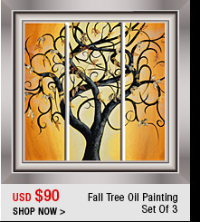 Fall Tree Oil Painting