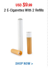 2 E-Cigarettes With 2 Refills