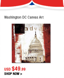 Washington DC Canvas Art