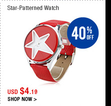 Star-Patterned Watch