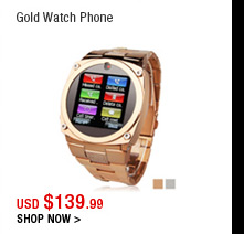 Gold Watch Phone