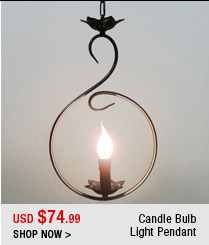 Candle Bulb Light Pendant
