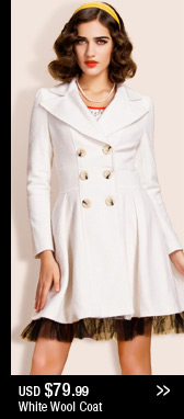 White Wool Coat