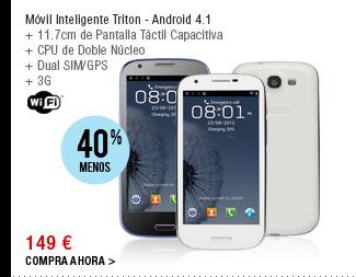Móvil Inteligente Triton - Android 4.1