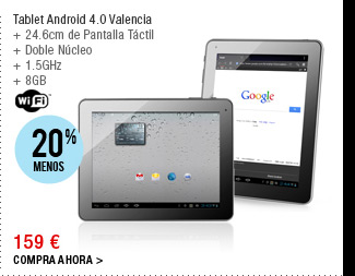 Tablet Android 4.0 Valencia