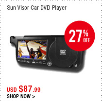Sun Visor Car DVD Player