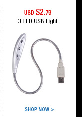 3 LED USB Light