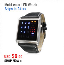 Multi-color LED Watch