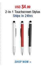 2-in-1 Touchscreen Stylus