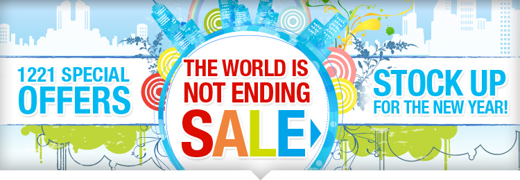 The World Is Not Ending SALE
