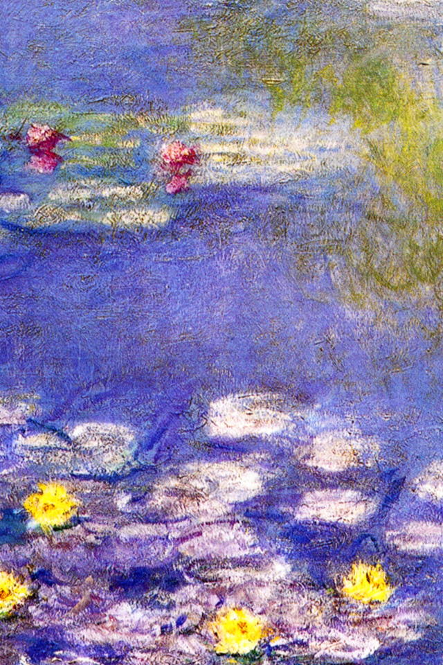 Skin For IPhone 4 4S Waterlilies By Claude Monet Masterpieces Series Amazoncouk Electronics