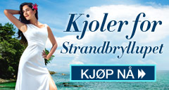 Kjoler for Strandbryllupet