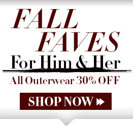 Fall Faves For Him & Her