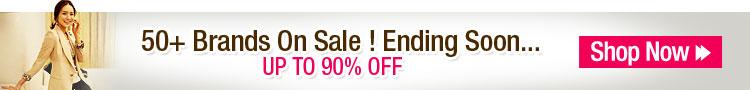 50+ Brands On Sale! Ending Soon...
