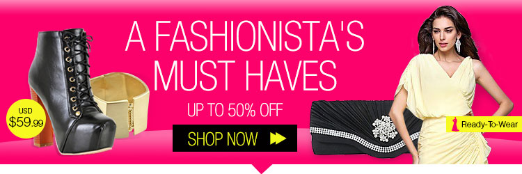A Fashionista's Must Haves