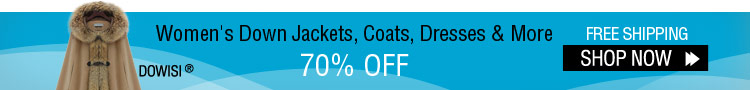Women's Down Jackets, Coats, Dresses & More