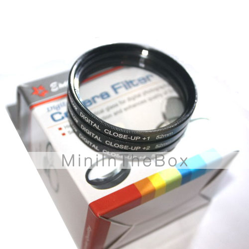 emolux 62mm (+1, +2, +4) kit close-up filter