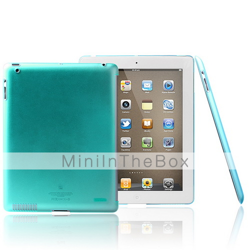 Geniune ROCK Nakedshell Protective Back Case with Screen Guard for iPad 2 Smart Cover