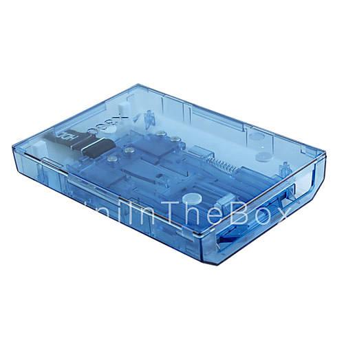 hdd caso unidad de disco duro de Xbox 360 Slim (azul