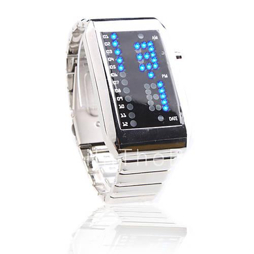 часы светодиодные унисекс инструкция