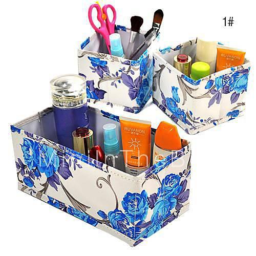 ...со скидкой, покупайте дещевле кожаный ящик для хранения косметики (3...