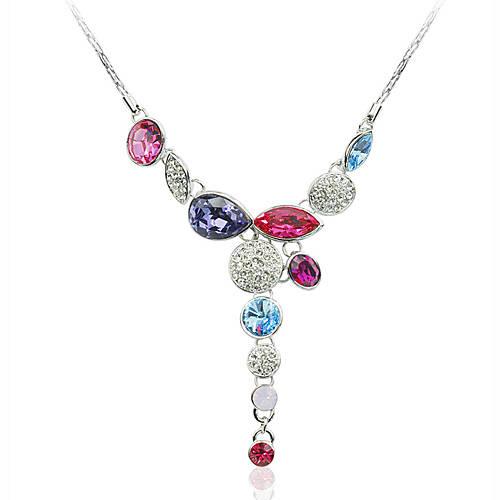 Австрия импортировать кристалл из бисера кулон ожерелье распродажа со скидкой, покупайте дещевле Австрия...