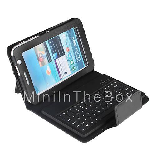 EUR $ 27.59 - Чехол с клавиатурой Bluetooth 3.0 QWERTY для Samsung Galaxy Tab2 P3100.