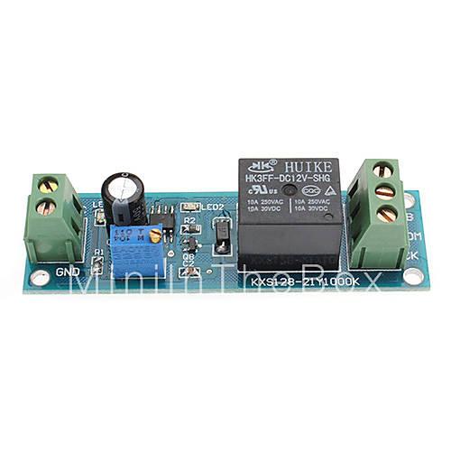 DIY NE555 Моностабильный Время переключения схемы задержки модулей (12V, зеленый) распродажа со скидкой...